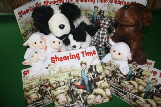 Shearing Time has arrived!