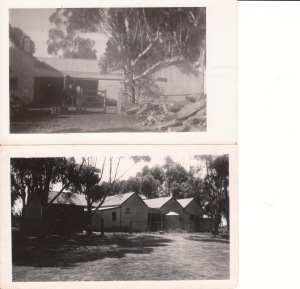 The old home on the farm where my mum's family lived.